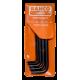 Bahco 1976TORX/5T Offset Black Key Screwdriver Set