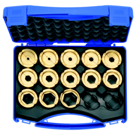 Klauke D22SET 6mm² - 300mm² 13 Piece Crimping Die Set