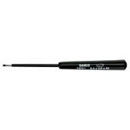 Bahco 7372I-3-80 Precision Flat Head Screwdriver 0.5mm x 3.0mm x 80mm
