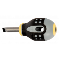 Bahco BE-8355 ERGO™ Flat Head Straight Tipped Screwdriver 1.2mm x 6.5mm x 25mm