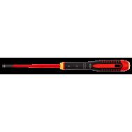 Bahco BE-8040SL ERGO™ Slim VDE Insulated Flat Head Screwdriver 0.8mm x 4.0mm x 200mm