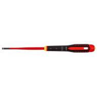 Bahco BE-8220SL ERGO™ Slim VDE Insulated Flat Head Screwdriver 0.5mm x 3.0mm x 100mm
