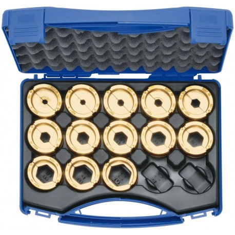 Klauke R22SET 6mm² - 300mm² 13 Piece Crimping Die Set