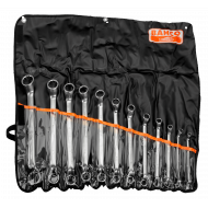 Bahco 2M/12T 6mm - 32mm Bi-Hex Ring Wrench Set - 12 Pieces