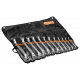 Bahco 2M/12T 6mm - 32mm Deep Offset Double Ring-End Wrench Set – 12 Pieces