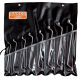Bahco 2M/8T 6mm - 22mm Deep Offset Double Ring-End Wrench Set – 8 Pieces