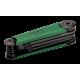 Bahco BE-8975 Folding Torx L-Key Set – 8 Pieces