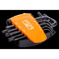 Bahco BE-7675 Long Torx Plus L-Key Set – 8 Pieces