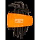 Bahco BE-9585 Long Torx L-Key Set – 8 Pieces