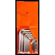 Bahco 1998M/15T Short Hex L-Key Set – 15 Pieces