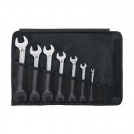 """Stahlwille 96404306 1/4"""" - 1 5/16"""" Double Open-Ended Spanner Set – 7 Pieces"""