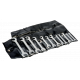"""Bahco 1931Z/12T 5/32"""" - 5/8"""" Lilliput Double Open-End Wrench Set – 12 Pieces"""