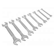 Bahco 6M/S8 6mm - 22mm Double Open-Ended Wrench Set – 8 Pieces