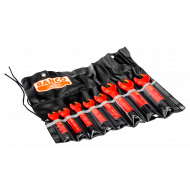Bahco 6MV/8T 10mm - 19mm Insulated Open-Ended Wrench Set – 8 Pieces