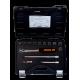 "Bahco 7814DS 1/2"" Bi-Hex Socket Set (10mm - 19mm) with Ratchet in Metal Case - 14 Pieces"