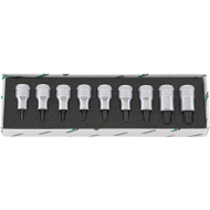 "Stahlwille 96031004 1/2"" Torx Socket Set (T20 - T60) - 9 Pieces"