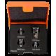 "Bahco 1RMA/S4 1/4"", 3/8"" and 1/2"" Socket Adaptor Set - 4 Pieces"
