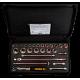 "Bahco 7827DST 1/2"" Bi-Hex Socket Set (10mm - 32mm) with Ratchet - 27 Pieces"