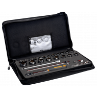 """Bahco 7825SST 1/2"""" Hex Socket Set (10mm - 32mm) with Ratchet - 25 Pieces"""