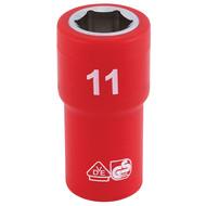 """Draper 31485 11mm x 1/4"""" Insulated Hex Socket"""
