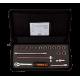 "Bahco 7818DST 1/2"" Bi-Hex Socket Set (8mm - 22mm) with Ratchet - 18 Pieces"
