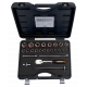 """Bahco 7825MHP 1/2"""" Hex Socket Set (10mm - 32mm) with Ratchet - 25 Pieces"""