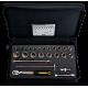 "Bahco 7825DST 1/2"" Bi-Hex Socket Set (10mm - 28mm) with Ratchet - 23 Pieces"