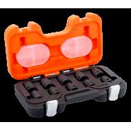 "Bahco D/S10 1/2"" Impact Socket Set (10mm - 19mm) - 10 Pieces"
