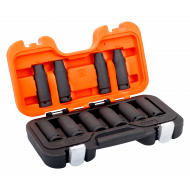 "Bahco DD/S10 1/2"" Deep Impact Socket Set (10mm - 19mm) - 10 Pieces"