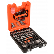 """Bahco S106 1/4"""" & 1/2"""" Socket Set with Ratchets and Wrenches - 106 Pieces"""