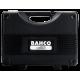 """Bahco 7817DZS 1/2"""" Bi-Hex Socket Set (3/8"""" - 1 1/4"""") with Ratchet in Metal Case - 17 Pieces"""