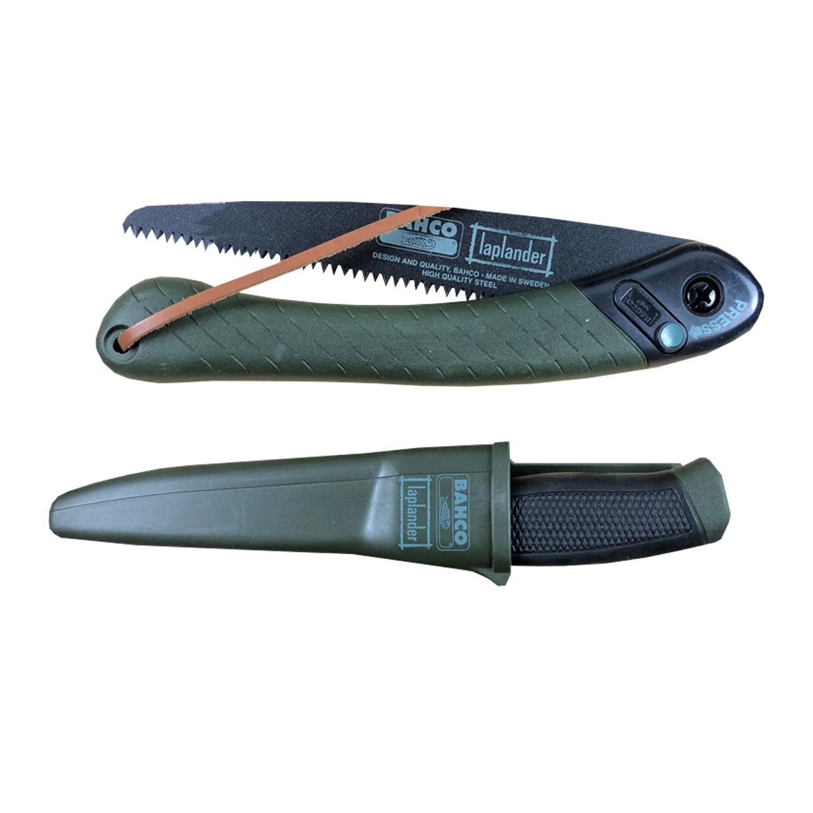 Bahco Foldable Saw and Knife Set