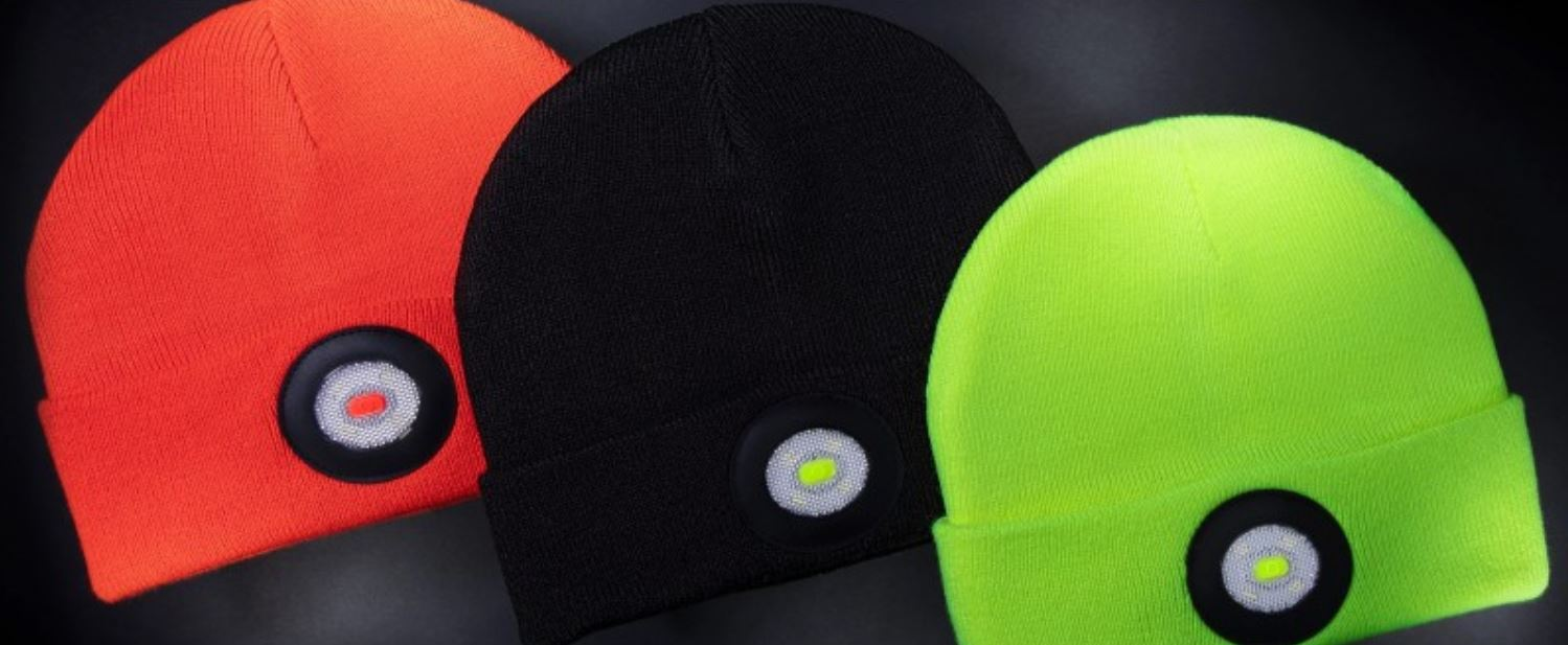 Unilite BE-02+ Beanie Hat with Rechargeable LED