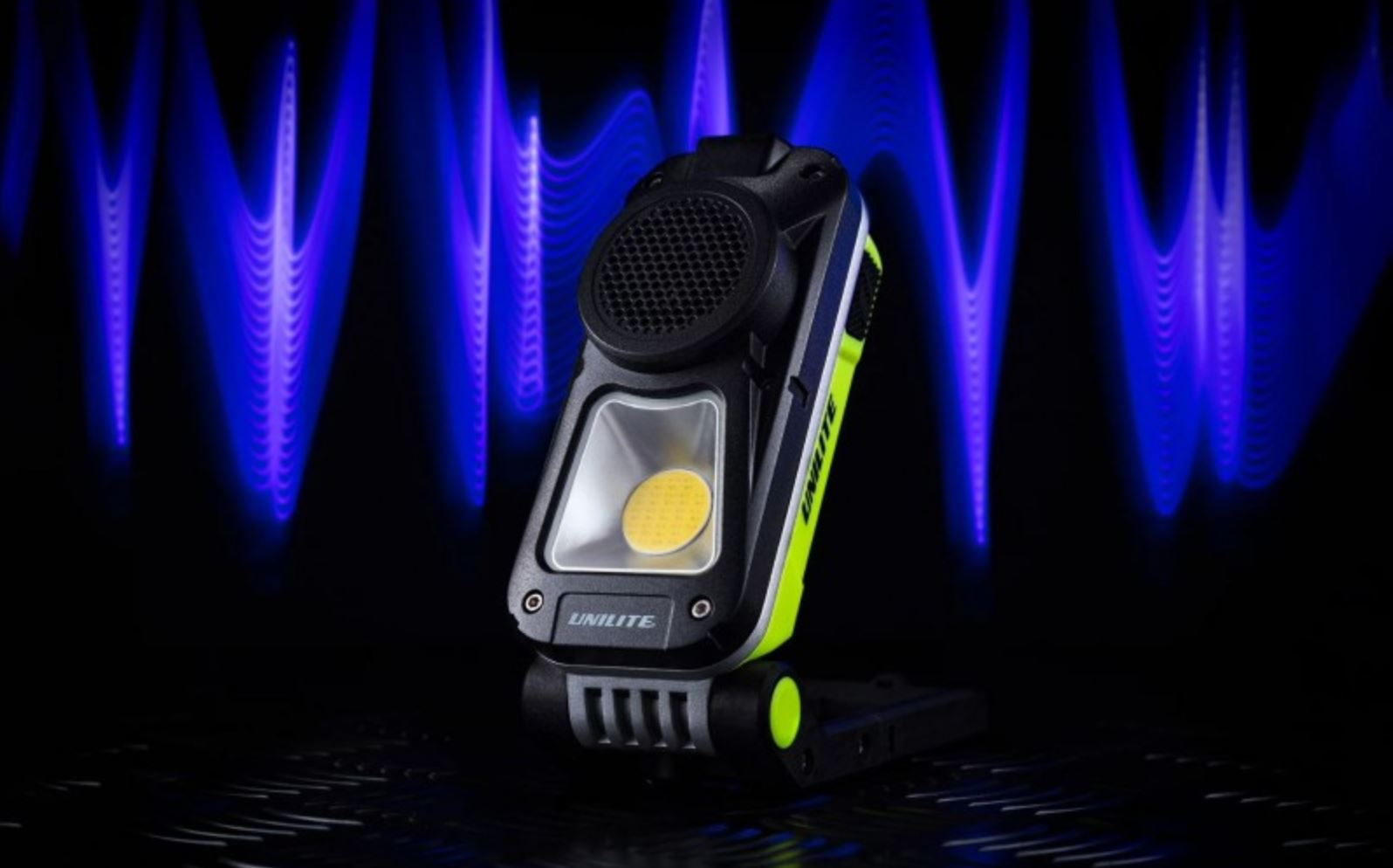 rechargeable speaker light