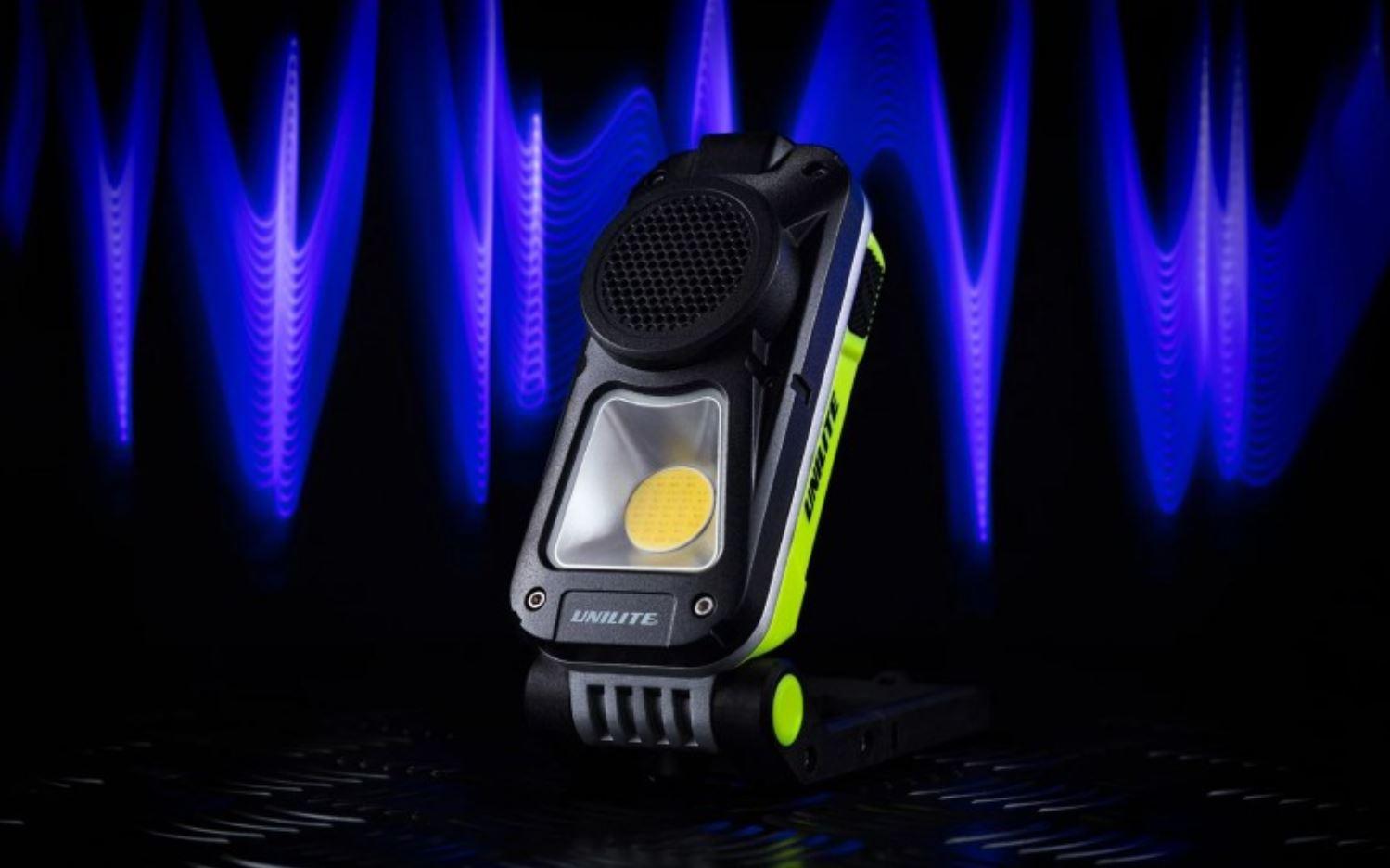 Rechargeable Speaker Work Light