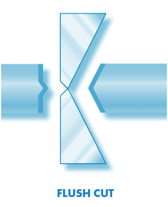 flush cut shape