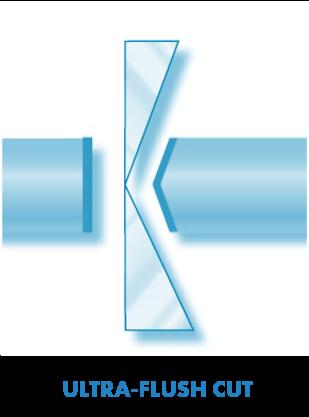 ultra-flush cut shape