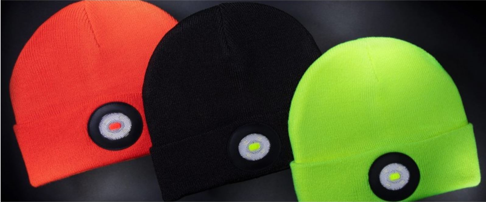 beanie hat with built in light