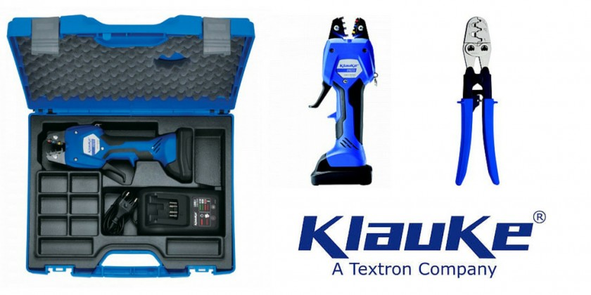Klauke Micro - Fast, light, efficient - the way you crimp today.