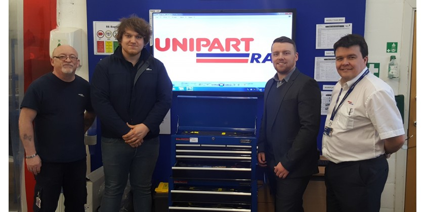 Unipart Rail Streamlines Tool Control with Heamar