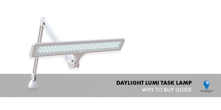 Daylight Lumi Task Lamp, Why to Buy?