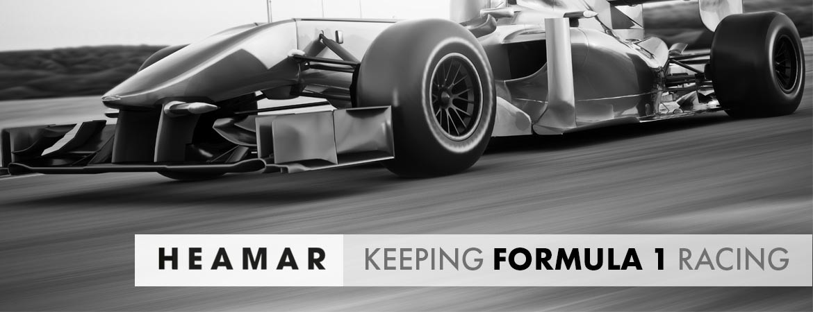 Keeping F1 Racing
