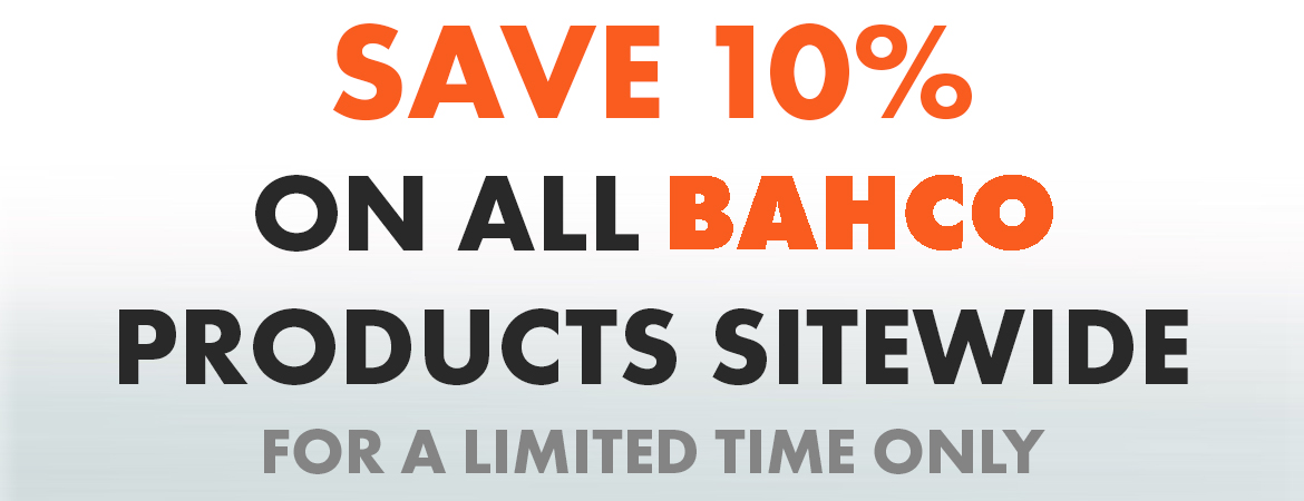 Bahco 10% discount
