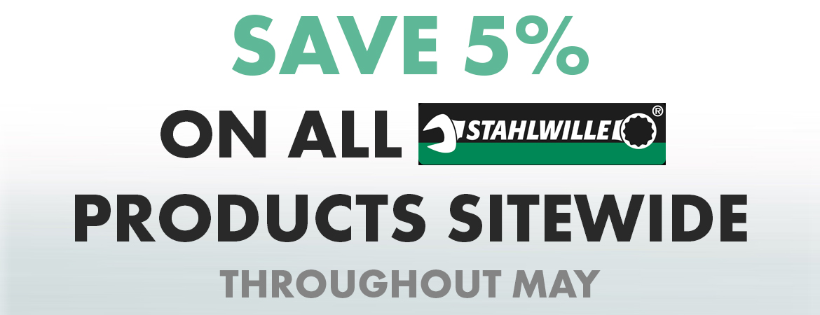 Stahlwille 5% discount